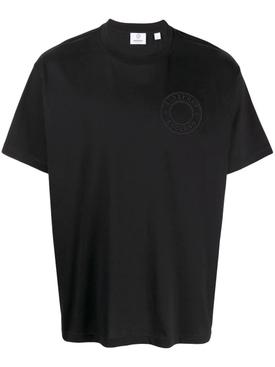 oversized England emblem logo t-shirt black