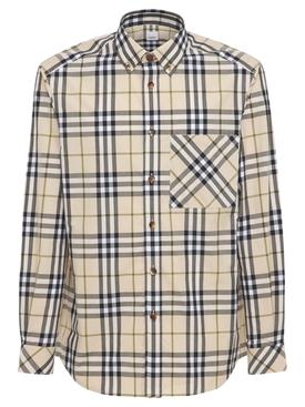 Plaid Heritage Long Sleeve Shirt Soft Fawn