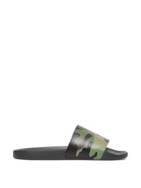 Slider Sandal Mangrove Green Camo