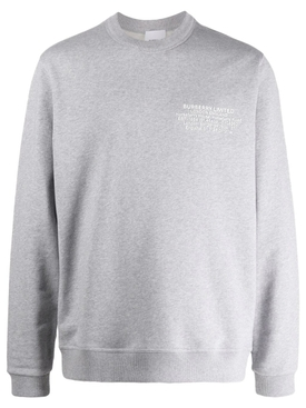 Limited Logo Sweatshirt Pale Grey Melange