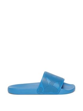 Slide Sandal Warm Royal Blue