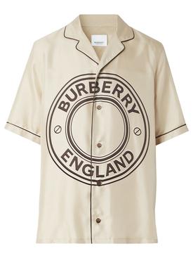 Logo Shirt Soft Fawn