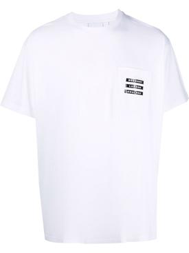 Oversized Statue Print T-shirt White
