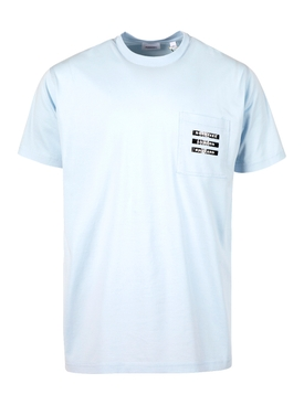 Vintage Label t-shirt pale Blue