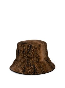 Archive Beige And Deer Bucket Hat