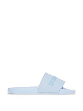 Furley Solid Slide Pale Blue