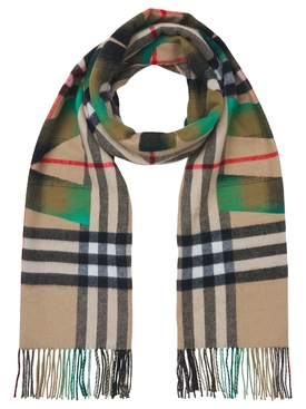 Kingdom plaid scarf Archive Beige and Green