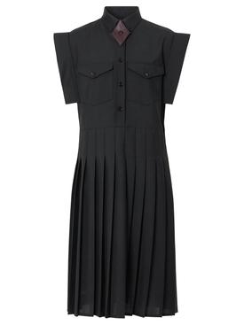 DRY WOOL SHIRT DRESS