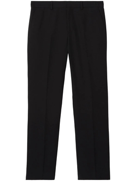 Classic Tailored Trousers with topstitch black