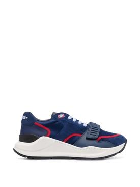 Ramsey Bicolor Low Top Sneaker Oceanic Blue
