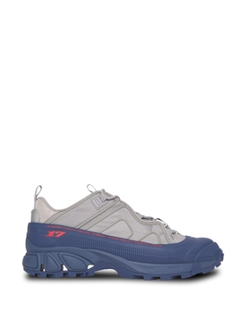 Arthur Bicolor Low Top Sneakers Warm grey and Oceanic Blue