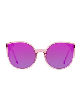 Retrosuperfuture - The Webster X Lane Crawford Pink 'forma' Sunglasses - Women