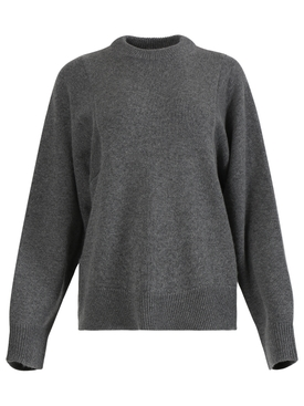 Grey boxy jumper