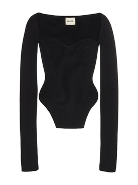 Maddy knit sweater BLACK