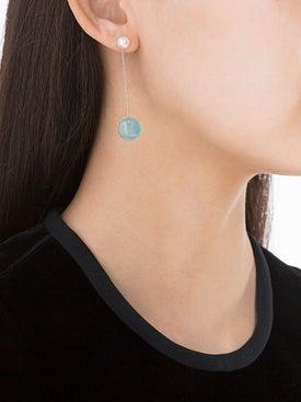 Delfina Delettrez - Double Side Drop Earring - Women