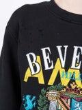 Amiri - Beverly Hills Crew Neck Black - Women