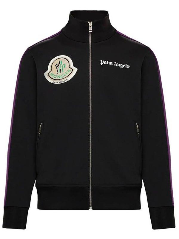 474e1e750 8 Moncler Palm Angels Track Jacket BLACK