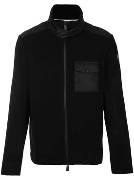 Moncler Grenoble - Black Zip Front Jacket - Down Jackets