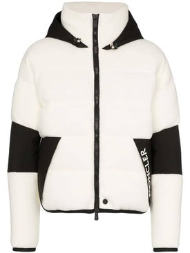 Moncler Grenoble - Black And White Hooded Jacket - Men