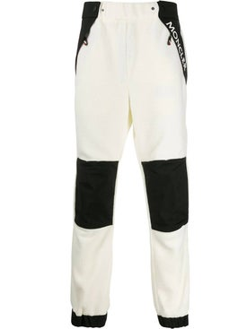 Moncler Grenoble - Black And White Track Pants - Men