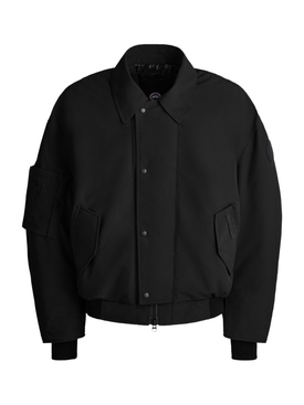 X ANGEL CHEN ARXAN BOMBER JACKET BLACK