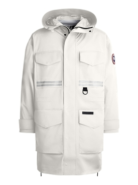 X ANGEL CHEN MORGAN RAIN JACKET NORTH WHITE STAR