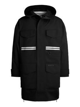X ANGEL CHEN MORGAN RAIN JACKET BLACK