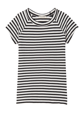 Striped Baseball T-shirt
