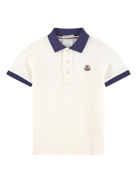 Moncler - Kids Classic Contrasting Polo Shirt - Kids