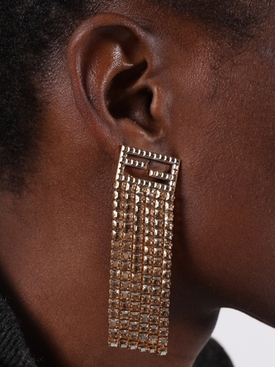 FF tassel earrings GOLD