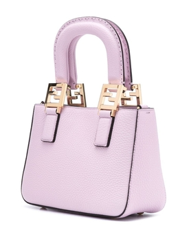 Mini shopping tote PINK