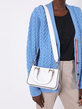 Mini shopping tote WHITE