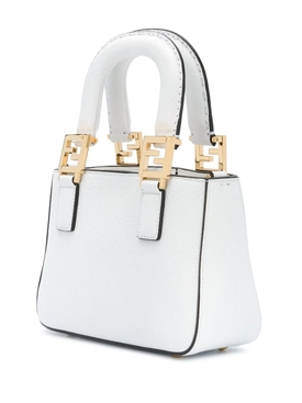 Mini shopping tote WHITE