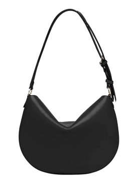 SMALL CROISSANT SHOULDER BAG, BLACK