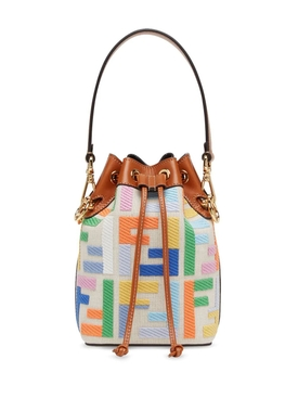 Fendi - Multicolored Mini Mon Tresor Bucket Bag - Women
