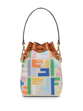 Multicolored Mini Mon Tresor Bucket Bag