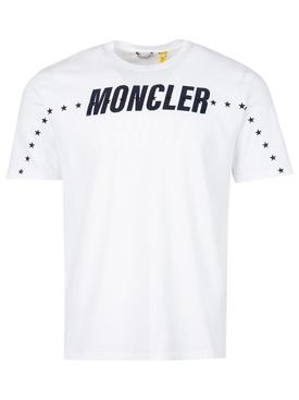 7 Moncler FRGMT Hiroshi Fujwara T-shirt White