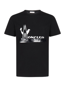 Moncler - 2 Moncler 1952 Split Logo T-shirt - Men