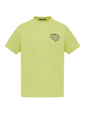 2 Moncler 1952 CREWNECK T-SHIRT OPEN YELLOW