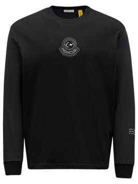 7 Moncler FRGMT Hiroshi Fujwara Long-Sleeve T-shirt Black