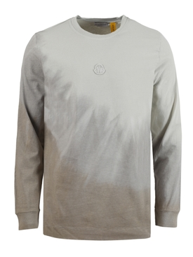 6 MONCLER 1017 ALYX 9SM dyed long-sleeve t-shirt tan