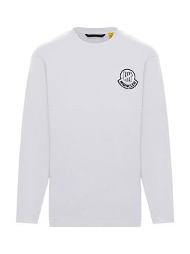 2 Moncler 1952 LONG SLEEVE T-SHIRT WHITE