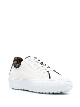 LOW-TOP LOGO TRIM FORCE SNEAKER, WHITE