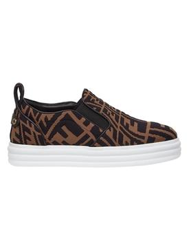 X Sarah Coleman Rise Slip-on Sneaker Tobacco Brown