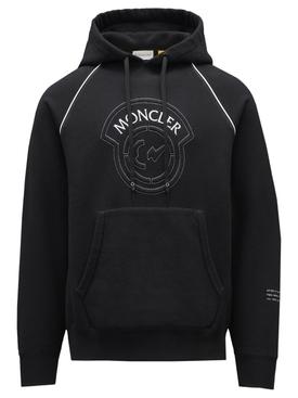 7 Moncler FRGMT Hiroshi Fujwara Hoodie Sweater Black