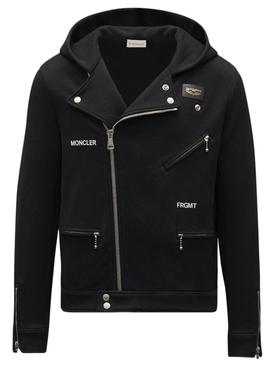 7 Moncler FRGMT Hiroshi Fujwara Zip-Up Cardigan Jacket Black