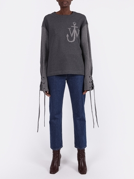1 Moncler JW Anderson Grey Sweatshirt