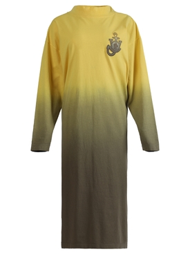 X JW ANDERSON GRADIENT DRESS, YELLOW
