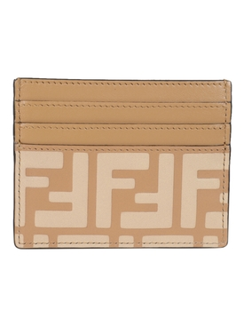 Tan Leather FF Card Case