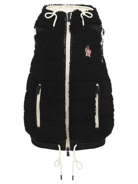 Zipped Gilet Vest Black